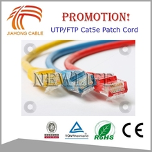 With RJ45 Connector High Quality 24AWG UTP Cat5e Cat 6 Cable / Patch Cable