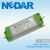 1500mA led driver constant current 50w 36v 85-265vac plastic housing with 2-year warranty
