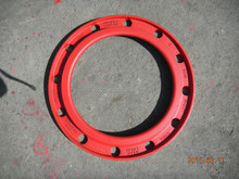 Resin sand ductile iron casting
