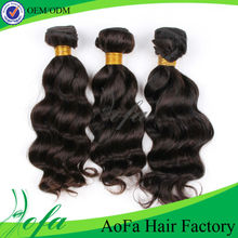 2014 aofa new products hot sale beauty remy hair wholesale 5a 100% virgin brazilian hair