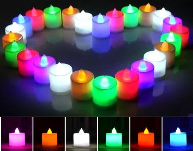 PROMO Wholesale Flameless Electronic Birthday Led Candle