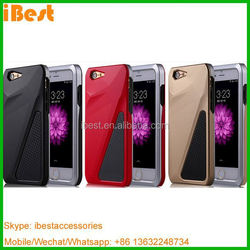 iBest nice design good hand feeling hard protective cover case for iphone 6 6 plus, hybrid case for iphone 6 plus