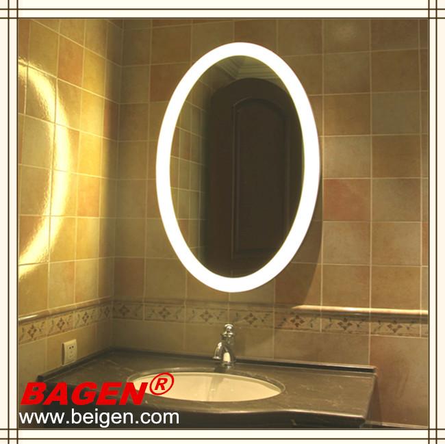 5 toile mobilier chambre d 39 h tel r tro clair miroir rond for Salle de bain hotel 5 etoiles