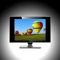 "24""/24 inch flat thin stand LCD color TV china lcd tv price"