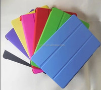 Stand Slim PU And TPU Back Cover Leather Case For iPad 6/Air 2