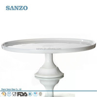 Sanzo Custom Wholesales Handmade European Style Rainbow Glass Cake Stand