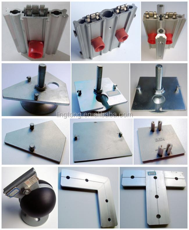 Exhibition Stand Aluminium Extrusion : Aluminium carré profile pour allemagne exhibition cabine