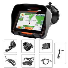 Vehicle electronic 4.3inch gps motorbike & vehicle with muti-languages