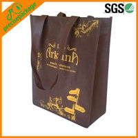 2013 Coffee color recycle PP Non woven promotion carry bag (PRA-836)