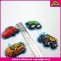 Engraçado carro dos desenhos animados em forma de biscoito de chocolate/automobilismo doces