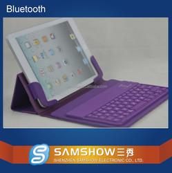Bilingual Keyboard Broadcom Silicone Keyboard Pu Leather Case Wireless Bluetooth Ios Keyboard Shortcuts For Ipad Mini