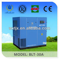 5.5-560KW Screw Air Compressor With Atlas Copco Airend CE Approve