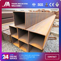 Q195 Q235 tubo cuadrado de acero y tubos