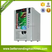 Korean Mini Coffee Automatic Vending Machine with Coin