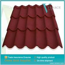 Residential house design color stone roofing shingle