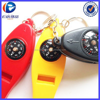 Silva 4 Function Sportsmans Tool Combines compass, thermometer, magnifying, and whistle key ring