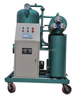 vacuum lubricant oil purification machine/waste oil filter system