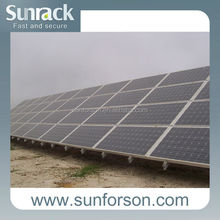 carbon steel bracket, solar power mount structure