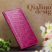 Extra Thin Classic Luxury Quality For Iphone 6 Plus Crocodile Embossed Genuine Leather Case