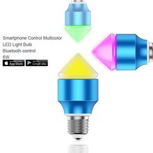 customize led,13w low cost e27 rgb led bulb lighting control by SmartPhone