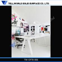 moderno ejecutivo escritorio de la computadora con escritorio de oficina