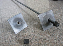 Cheapest dia 47mm factory directly exported rock fall protection split set rock bolt for mining