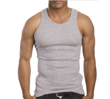 Newest Design Custom Logo Printed Gym Mens Gym Tank Top