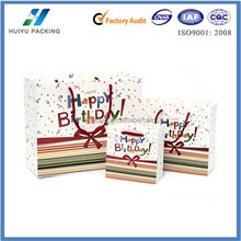 """2015 new paper gift bags_birthday paper gift bags_""""Happy Birthday"""""""