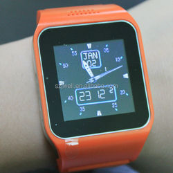online store suppliers supply hand watch mobile phone price and wrist watch mobile phone is cheap