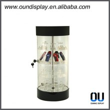 organic glass acrylic store mobile phone display showcase