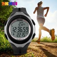 New Design Heart Rate Watch Waterproof 50m wrist watch pedometer skmei watch