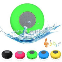 Hot Sale waterproof Bluetooth Portable Speaker,Water Bluetooth 3.0 Shower Speaker, Handsfree Portable Speaker Suction Cup
