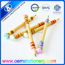 Hot sale promotional ball pen/1 color wood ball pen/for school and office