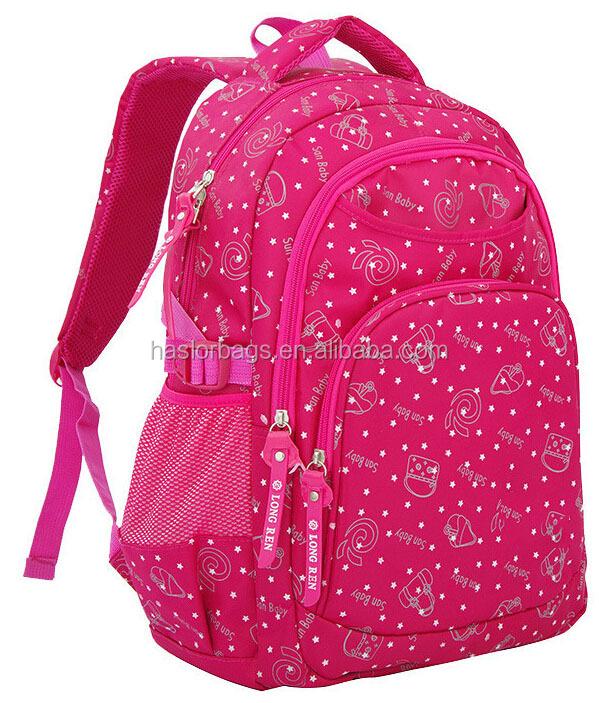 Birght couleur primaire sac d'école pour enfants