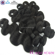 Very Thick Hair, Factory Price 100% Overseas Brazilian Hair Weave