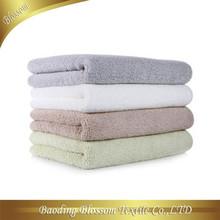 Solid Color Egyptian Cotton Bath Towel Hand Towel Set Super Soft HRM Zero Twist Gift Set Towel