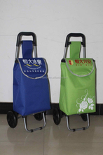 folding shopping trolley bag Oxford cloth 600D,PVC coating
