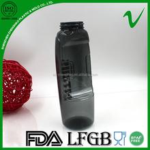 bpa free new design empty Black Plastic Water Bottle factory in Shenzhen