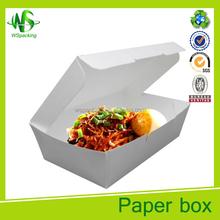 Chinese paper food take out boxes take away food box