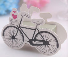 Bicycle Color Printing Paper Folding Wedding/Kid Birthday/Baby Noon Favour Party Candy Box