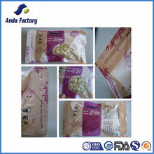 Colorful printed food packaging pouch / plastic food bag manufacturer