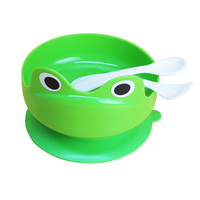 Sucker bowl dog to drink water and anti overflow preventing turnover tableware dog pet bowl basin