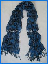 Hot manera de la señora impresa pashmina bufanda y mantón