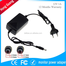 OEM factory 12v 0.1a power adapter for foreign trade