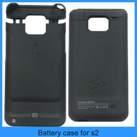 For galaxy s2 extended battery case external battery case battery charger case for samsung galaxy s2(PT-S2B22001)