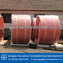 Qingdao Sunshine supply US Coast Guard Chain Through marine Buoy,mooring anti seawater corrosion buoy