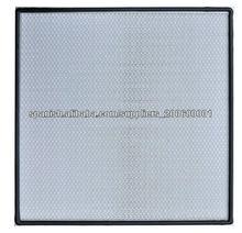 2013 Top Ventas de Medios de fibra de vidrio Mini plisado HEPA filtro aéreo