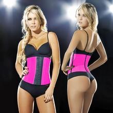 colorful Ann Chery Best seller Sport Latex Waist Cincher Faja Colombiana Corset Shapewear