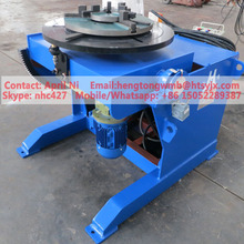 automatic rotary chuck welding positioner 300kg