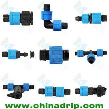 Chinadrip accesorios de cinta de goteo
